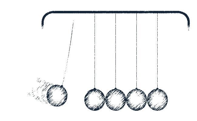 ejemplos visual de la energía cinética