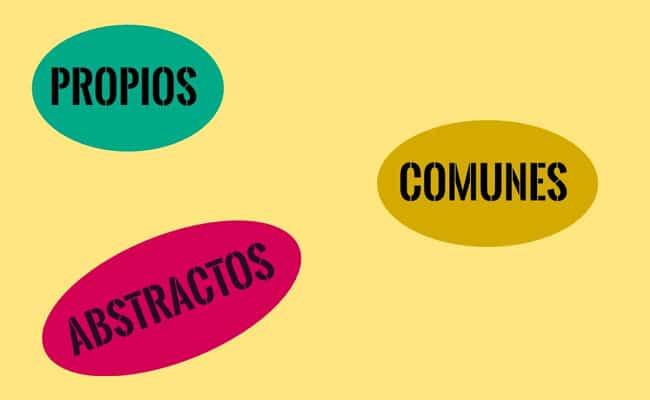sustantivos, propios, comunes y abstractos