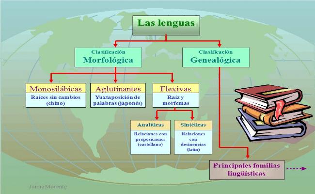 Clasificación morfológicas de las lenguas