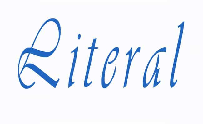 literalidad y como comunicarse
