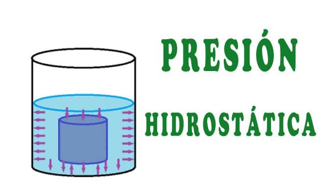 Qué es la presión hidrostática y para que sirve