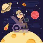 Hawking caricatura