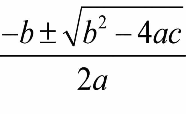 ecuaciones de segundo grado incompletas