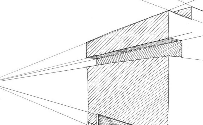como dibujar perspectiva isometrica a partir de vistas