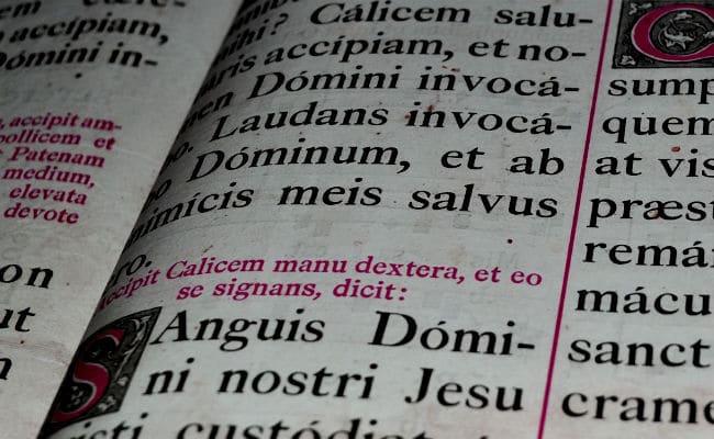 tabla de declinaciones en latin