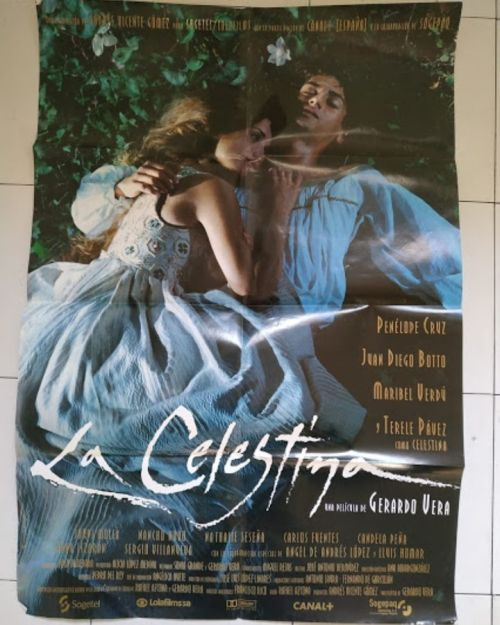 Cartel de cine de La celestina