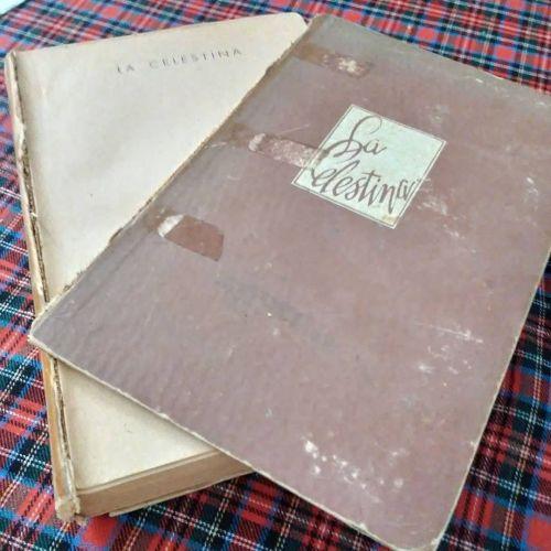 Libro viejo y roto de La Celestina