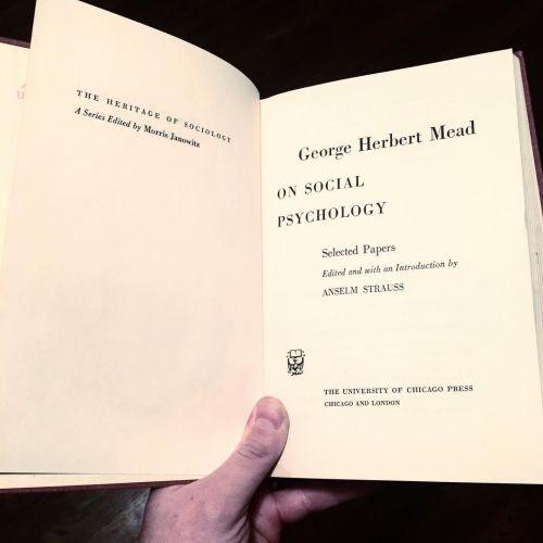 Libro de George Mead