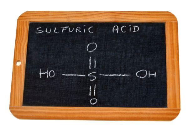 Fórmula del ácido sulfúrico