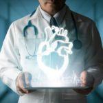Cardiologo muestra corazón digital