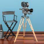 Set del director de cine